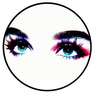 eyes logo colour by bournemonkey