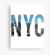 New York City. Metallbild
