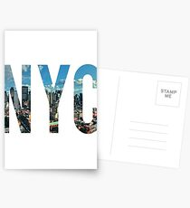 NEW YORK CITY. Postcards