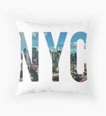 NEW YORK CITY. Throw Pillow