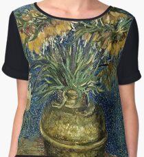 Vincent Van Gogh - Imperial Fritillaries In A Copper Vase, 1887  Women's Chiffon Top
