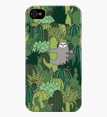 Cactus Sloth iPhone 4s/4 Case