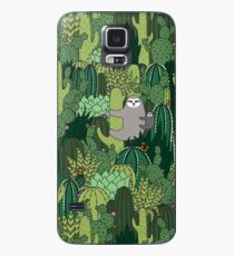 Cactus Sloth Case/Skin for Samsung Galaxy