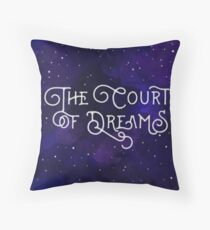 The Court of Dreams Throw Pillow