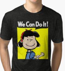 Lucy The Riveter Tri-blend T-Shirt
