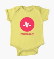 musical.ly musically One Piece - Short Sleeve