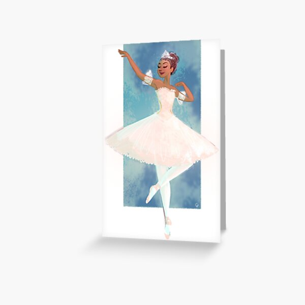 Clara from the Nutcracker Greeting Card