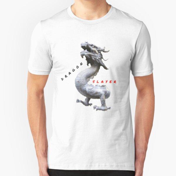 BEAST DRAGON SLAYER Slim Fit T-Shirt