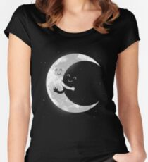Moon Hug Women's Fitted Scoop T-Shirt