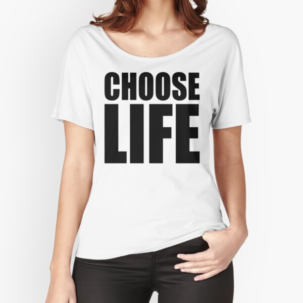 NDVH Choose Life Relaxed Fit T-Shirt