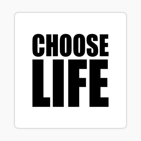 NDVH Choose Life Sticker