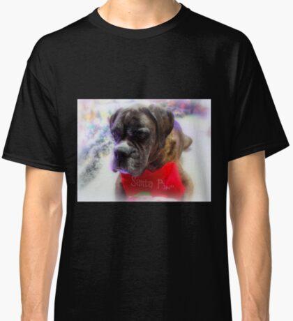 Mein Strumpf bereit für Santa - Boxer Dogs Series Classic T-Shirt