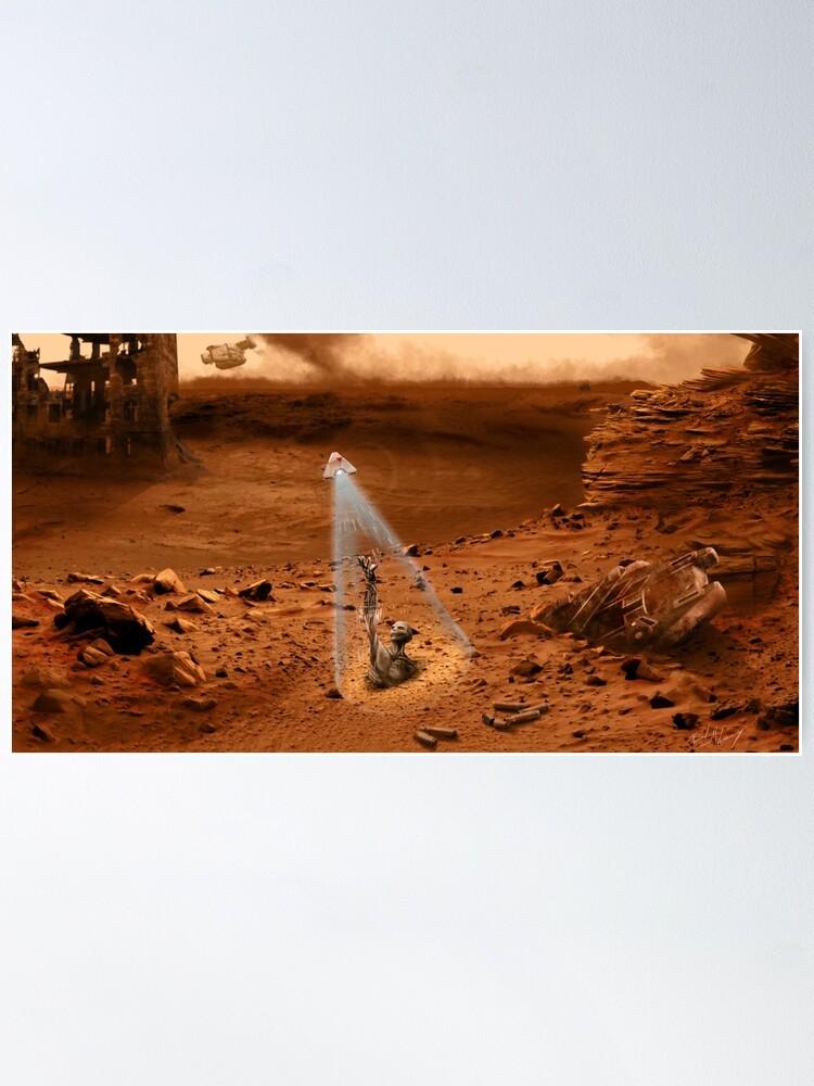 Alternate view of Myelin Mars Poster