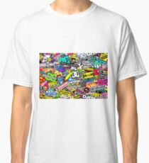 Camiseta clásica Stickerbomb