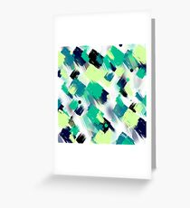 Abstract pattern 72 Greeting Card