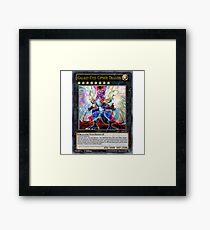 Galaxy-Eyes Cipher Dragon Framed Print