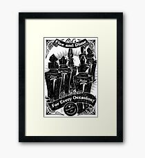 Cid's Final Fantasy Five & Dime Framed Print