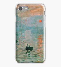 Claude Monet - Impression Sunrise  iPhone Case/Skin