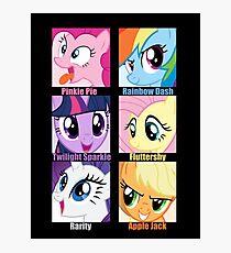 Everypony Is Best Pony Photographic Print