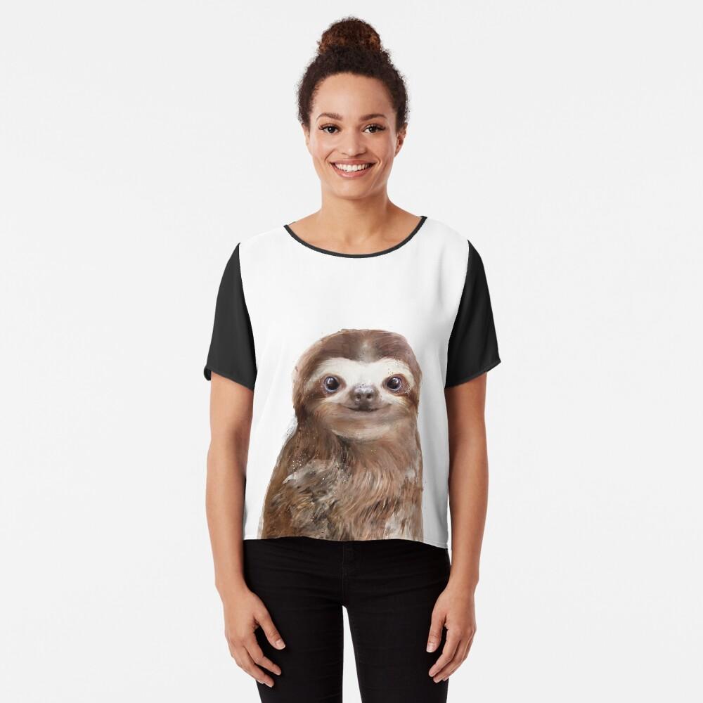 Little Sloth Chiffon Top