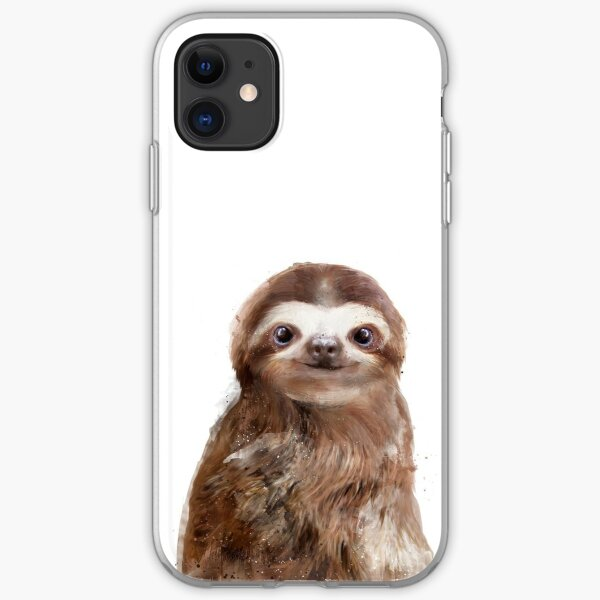 Little Sloth iPhone Soft Case