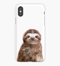 Little Sloth iPhone Case