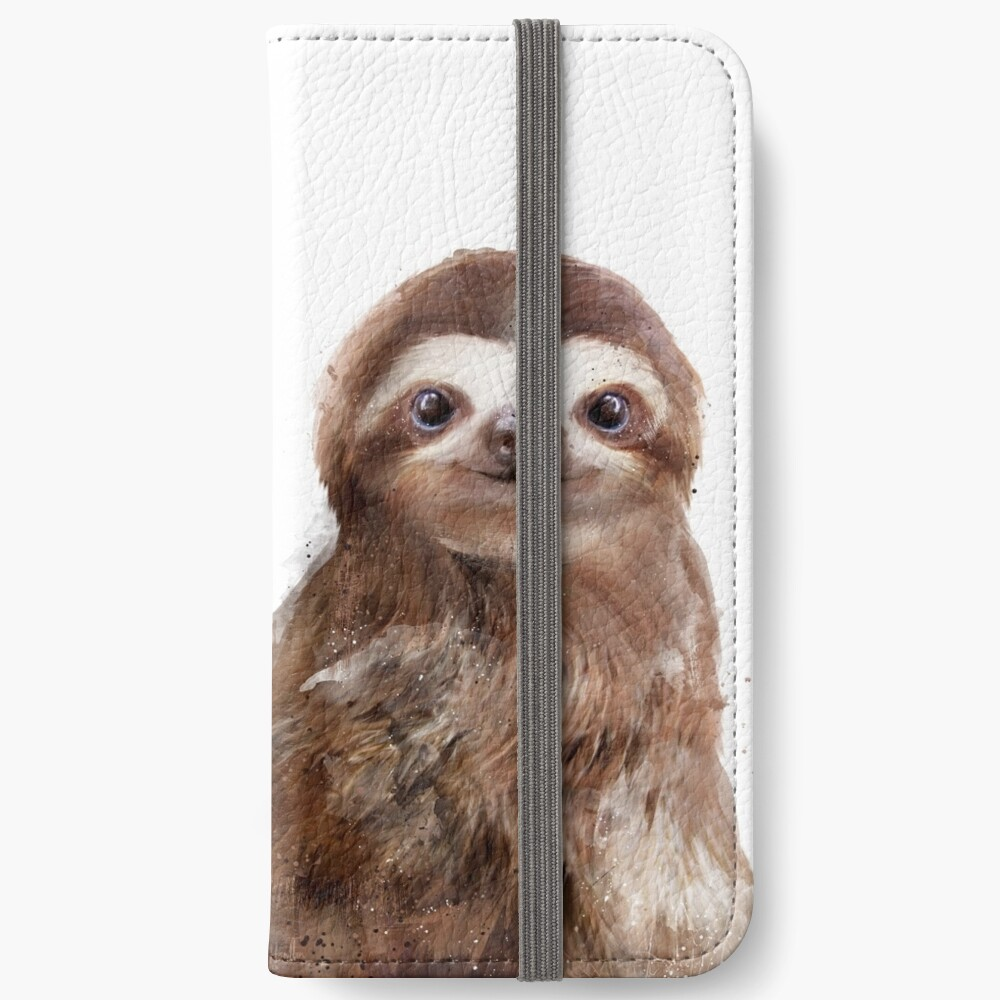 Little Sloth iPhone Wallet