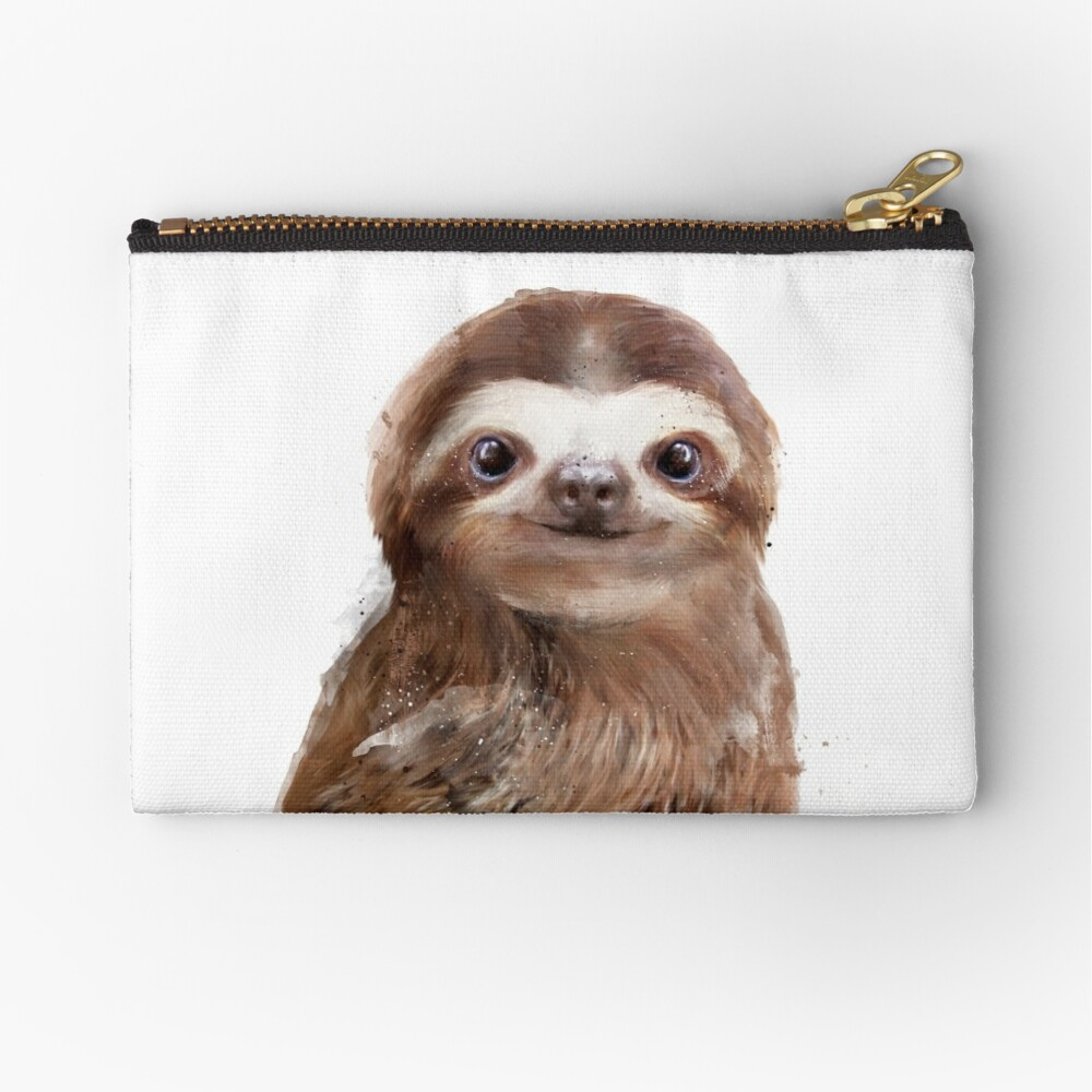 Little Sloth Zipper Pouch