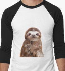 Little Sloth Baseball ¾ Sleeve T-Shirt