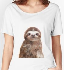 Little Sloth Relaxed Fit T-Shirt
