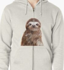 Little Sloth Zipped Hoodie