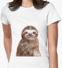 Little Sloth Fitted T-Shirt