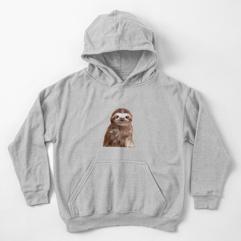 Little Sloth Kids Pullover Hoodie