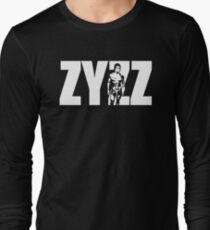 Zyzz text design Long Sleeve T-Shirt