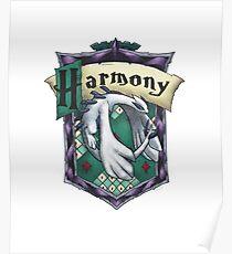 Harmonious Slytherin Poster
