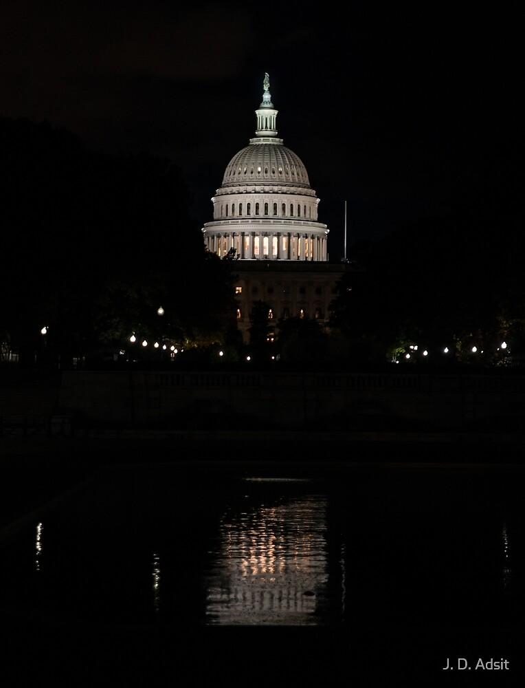 A Capitol Evening by J. D. Adsit