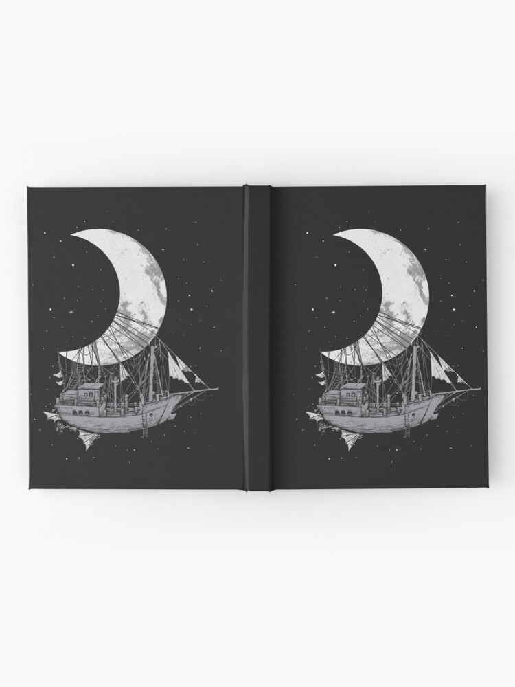 Alternate view of Moon Ship Hardcover Journal