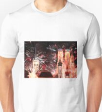 Munich, New Years Eve Fireworks T-Shirt