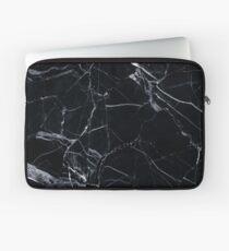 Black Marble Laptop Sleeve
