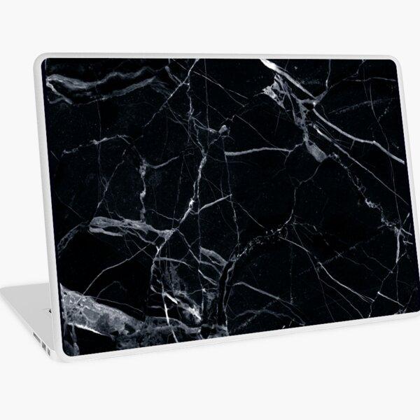 Black Marble Laptop Skin