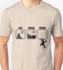 Eat. Sleep. Climb Unisex T-Shirt