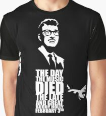 The Day the Music Died Graphic T-Shirt