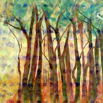 Patterned Trees by RuthPalmer