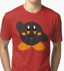 Carbon Kirby - Orange Eyes Tri-blend T-Shirt