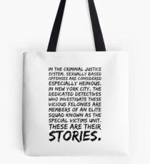 Svu Intro Tote Bag