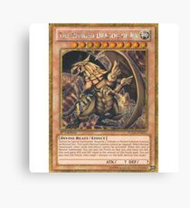 The Winged Dragon of Ra Canvas Print