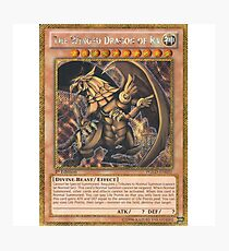 The Winged Dragon of Ra Photographic Print
