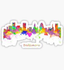 Baltimore USA Sticker