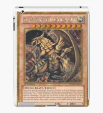 The Winged Dragon of Ra iPad Case/Skin