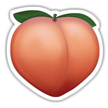 Emoji Peach by popular